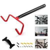 Garage Wall Mounted Bike Bicycle Cycle Storage Rack Hook Holder & Screws New