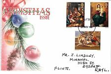 1967 GB CHRISTMAS Stamps SET 3v FIRST DAY COVER one LIVERPOOL PMK 27 NOv Ref:330