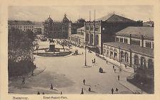 Postkarte - Hannover / Ernst-August-Platz