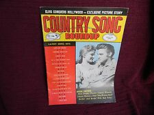 COUNTRY SONG ROUNDUP  FEB 1957 - ELVIS and DEBRA PAGE -Elvis Conquers Hollywood