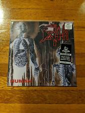DEATH Human LP BLACK INSIDE BEER W/ SPLATTER VINYL /300 Newbury Comics Exclusive