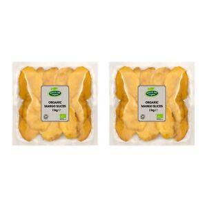 Organic Dried Mango Slices (Cheeks) 2kg