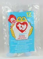 Ty Teenie Beanie Babies Peanut the Elephant McDonalds #12 1998 Toy Animal