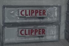 2 Trainworx Clipper Exxpress 40' Drop Frame Trailer N scale 40383-1,3