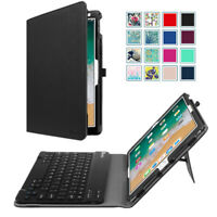 Bluetooth keyboard + Leather Case Cover For iPad Mini 4/3/2/1, iPad Pro 10.5''