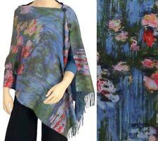 Shawl/Scarf - Fine Art Design - Waterlilies by Monet - Gorgeous Accessory