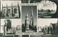 HIGHAM FERRERS Multi-view Postcard nr Northampton NORTHAMPTONSHIRE Anon