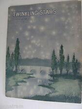 1913 Twinkling Stars sheet music by Jerome Heller
