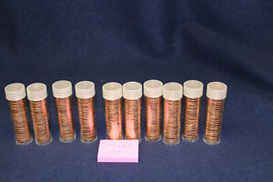 10 1968 S CENT ROLLS UNCIRCULATED  1968-S #3