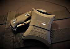 Tactical Military Wallet Heavy Duty Grade Holds 5-7 Cards Money Clip Band Slim