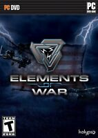 Elements Of War - PC Strategy Game - New Sealed