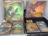 World of Warcraft Games- 2- Cataclysm & Mists Of Pandaria Collector's Editions