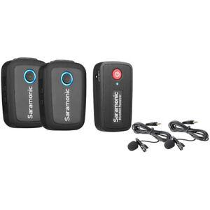 Saramonic Blink 500 B2 Wireless System Tx+Tx+Rx 3.5mm Microphone Kit  (UK)  BNIB