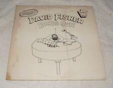 LP : David Fisher Bombs Out! (1981) live comedy SIGNED Incest records