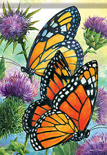 "Large Garden Flag 28X40"" Home Outdoor House Flags Banner Butterfly HY303"