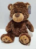 "i5 Kellytoy Sitting Brown Bear 13"" sittong Stuffed Plush Toy"