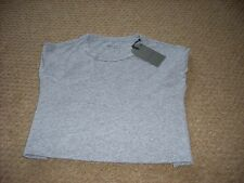 Mens All Saints Linray Grey short sleeved crew T Shirt. X Small 36 chest .NEW