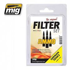 MIG PRODUCTIONS A.MIG7453 - FILTER SET GERMAN TANKS - NUOVO