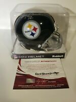 Certified Terry Bradshaw Autographed Mini Helmet Pittsburgh Steelers