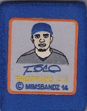 TRAVIS D'ARNAUD NON GAME USED MIMS PICTURE FACE WRISTBAND NEW YORK METS