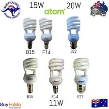 CFL Energy Saver Globes Bulbs E14,B15, E27, B22, Warm White,Cool White Daylight