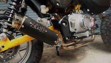 ZoOM Exhaust Honda monkey 125 Full System LOOP Low Mount 2018 2019 Black 2SLZ