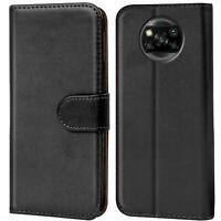 Book Case für Xiaomi Poco X3 Hülle Flip Cover Handy Tasche Schutz Hülle Etui