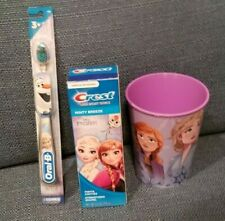 Frozen toothbrush/toothpaste/cup set-(Your choice)  Free Shipping! EASTER BASKET