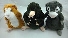 Lot of 3 Disney Store G-Force Guinea Pigs Plush Stuffed Darwin Speckles Blaster