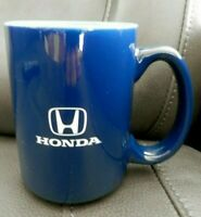 Honda Navy Blue Coffee Mug Cup, Car, Teal Interior, EUC