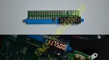 JAMMA ADAPTER with VOLTMETER +5V, 12V & TEST - for arcade pcb