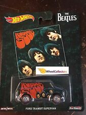 2017 Hot Wheels Pop Culture BEATLES * Ford Transit Supervan * Case H