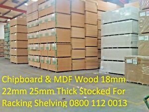 22/25MM WOOD PALLET RACKING SHELVING BOARDS - CUT TO SIZE