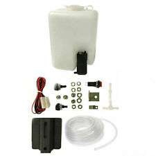 AP Automotive Universal Windscreen Washer Bottle And Pump With Fitting Kit 12v