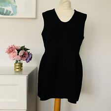 COS Dress Size 16 BLACK | SMART Occasion WEDDING Party RACES LBD