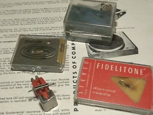 GE VR II PRO (RED) VARIABLE RELUCTANCE PHONO CARTRIDGE