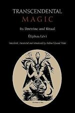 Transcendental Magic : Its Doctrine and Ritual by Eliphas Levi (2011, Paperback)