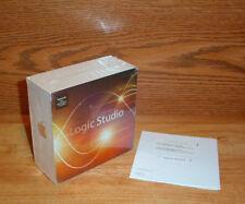 Brand New Sealed APPLE Logic Pro 9 - Logic Studio 2 - Full Retail Install