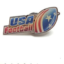 USA Football Lapel Pin Tie Tack