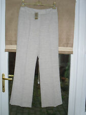BNWT PLATINUM HOUSE OF FRASER BEIGE TROUSERS SIZE 12 ORIGINAL PRICE £75