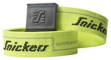 SNICKERS 9033 LOGO BELT 110CM. YELLOW. BRAND NEW.