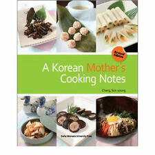 A Korean Mother's Cooking Notes Book Korean Food Book English Recipes