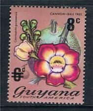 Guyana 1974 8c on 6c overprint SG 601 MNH