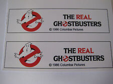 Ghostbusters Ghost Extinguisher Water Gun Squirt Gun Replacement Stickers - B2G1