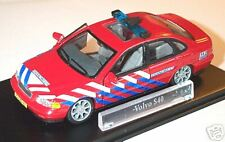 "wonderful Dutch firechiefcar VOLVO S40 2001 ""BRANDWEER"" - scale 1/43"