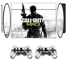 COD MW3 201 Skin Sticker for PS3 PlayStation 3 Super Slim and 2 controller skins