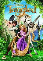 Tangled - 2011 Limited Edition Artwork & O-ring Brand New Sealed Region 2 UK DVD