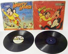 2 RARE MIGHTY MOUSE 78 RPM RECORDS IN TOYLAND FIRST ADVENTURE HOWDY DOODY