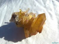 TOP COLLECTOR__HIGH GRADE DT CLUSTER__LARGE Arkansas Quartz Crystal