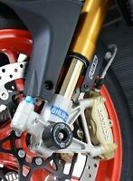 R&G Racing Fork Protectors for the Aprilia RSV4-RR (2019 (1100cc) FP0173BK BLACK